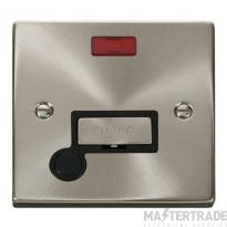 Click Deco Satin Chrome Unswitched Spur Neon + F/O VPSC553BK