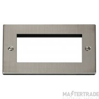 Click Deco Stainless Steel New Media Quad Plate VPSS312