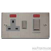 Click VPSS505GY Switch & 13A Socket 45A