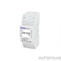 Single Phase, MID, 100A, Direct Connected, Digital Multifunction Meter, Pulse & Modbus Outputs