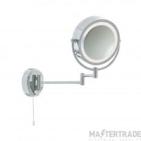 Searchlight 11824 Chrome Magnifying Bathroom Mirror Light