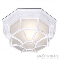Searchlight Outdoor & Porch - White Flush Light