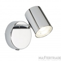 Searchlight 3171CC Rollo One Light Wall Spotlight In Chrome