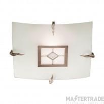 Searchlight 4207-30 Tiffany 1 Light Flush Glass Ceiling Fitting