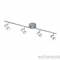 Searchlight 4414CC Bubbles Chrome LED 4 Way IP44 Bathroom Spotlight
