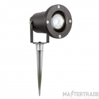 Searchlight 5001BK-LED Outdoor Directional Spike Light In Aluminium