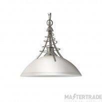 Searchlight 5224SS Linea Satin Silver Ceiling Pendant