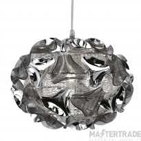 Searchlight 5801-1SM Triangle 1 Light Smoked Pendant Ceiling Light
