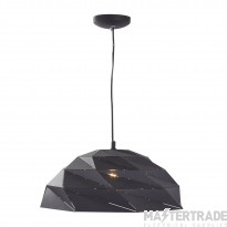 Searchlight 6242BK Origami Ceiling Pendant Light In Sanded Black
