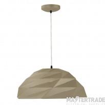 Searchlight 6242GO Origami Ceiling Pendant Light In Metallic Gold
