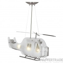 Searchlight 639 Novelty Helicopter Ceiling Pendant
