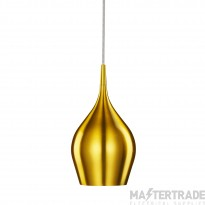 Searchlight 6461-12GO Gold Vibrant Metal Ceiling Pendant Light