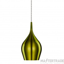 Searchlight 6461-12GR Green Vibrant Metal Ceiling Pendant Light