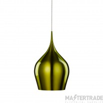Searchlight 6461-26GR Green Vibrant Metal Ceiling Pendant Light