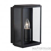 Searchlight 8204BK Outdoor Lighting Black Finish Glass Lantern