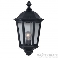 Searchlight 82505BK Alex Outdoor Wall Lamp.