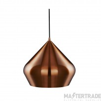 Searchlight 8683CU Vibrant Pyramid Ceiling Pendant Light Anodised Copper