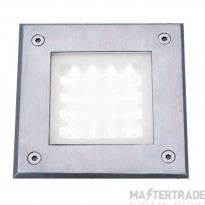 Searchlight 9909WH Square Clear Walkover Light