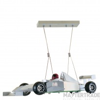 Searchlight F1 Novelty Formula One Car Ceiling Light