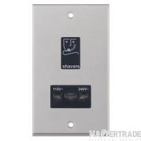 Selectric LGA Dual Voltage Shaver Socket - 115V & 230V Output