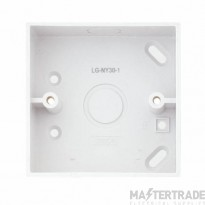 LGA LG-NY30-1 Pattress Box 1G 30mm