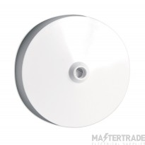 Selectric LGA Ceiling Rose with Flex Clamp - Clear Base - White
