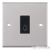 """Selectric LGA 10 Amp Push Switch - 1 Gang - X-Rated """"BELL""""?"""