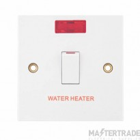 "Selectric LGA 20 Amp DP Switch with Neon ""WATER HEATER""?"