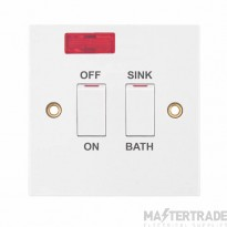 "Selectric LGA 20 Amp DP Switch with Neon ""ON OFF""? ""SINK BATH""?"