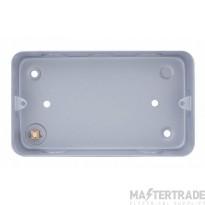 Selectric LGA Metalclad 47mm Box 2 Gang LG8288MB