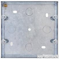 Selectric LGA Galv 48mm Box for 6 to 8 Aperture Modular Plate SGRID360-272