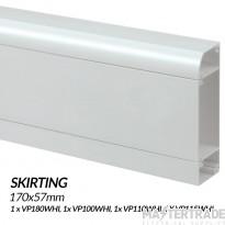 MK Prestige 3D Skirting Trunking Kit