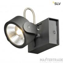 SLV 1000127 KALU LED 1 Wall and Ceiling luminaire, black, 3000K, 60?