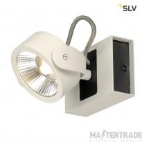 SLV 1000128 KALU LED 1 Wall and Ceiling luminaire, white/black, 3000K, 60?