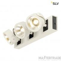 SLV 1000132 KALU LED 3 Wall and Ceiling luminaire, white/black, 3000K, 60?