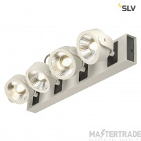 SLV 1000134 KALU LED 4 Wall and Ceiling luminaire, white/black, 3000K, 60?