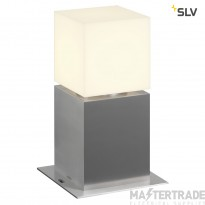SLV 1000344 SQUARE POLE 30, E27, Outdoor Bollard, stainless steel 304, max. 20W, IP44