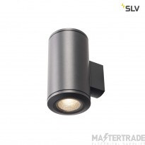 SLV 1000446 POLE PARC LED Outdoor Wall luminaire, UP/DOWN, anthracite, 3000K, IP44
