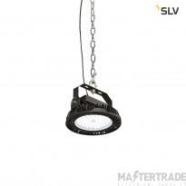 SLV 1000828 PARA FLAC LED Pendant luminaire, black, 150W 4000K, IP65