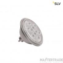 SLV 1000939 LED QPAR111 GU10 Bulb, 13?, silvergrey, 2700K, 730lm