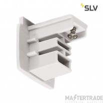 SLV 1001380 End cap for S-TRACK 3-circuit track, traffic white