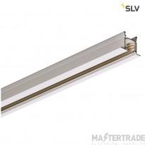 SLV 1001532 EUTRAC 3-circuit recessed track, traffic white, 3m