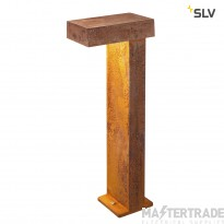 SLV 1001824 PATHLIGHT 70, LED outdoor floor stand, rust coloured, IP55, 3000K