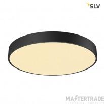 SLV 1001886 MEDO 60 CW, CORONA, LED Outdoor surface-mounted wall and ceiling light, TRIAC, black, 3000/4000K