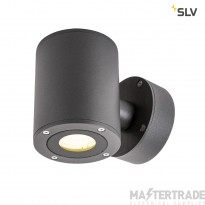 SLV 1002018 SITRA Up/Down WL, LED Outdoor surface-mounted wall light, anthracite, IP44, 3000K, 9W