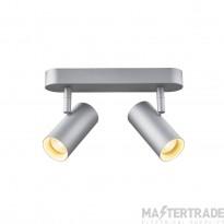 SLV 1002975 NOBLO II Indoor LED surface-mounted ceiling light 2700K grey