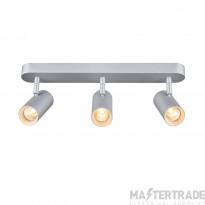 SLV 1002978 NOBLO III Indoor LED surface-mounted ceiling light 2700K grey