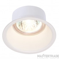 SLV 112911 HORN GU10 downlight, round, white, max. 50W