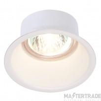 HORN GU10 downlight, round, white, max. 50W