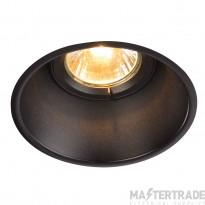 Intalite 113140 HORN-T GU10, steel, 1x GU10 max. 50W, matt black, incl. clip springs